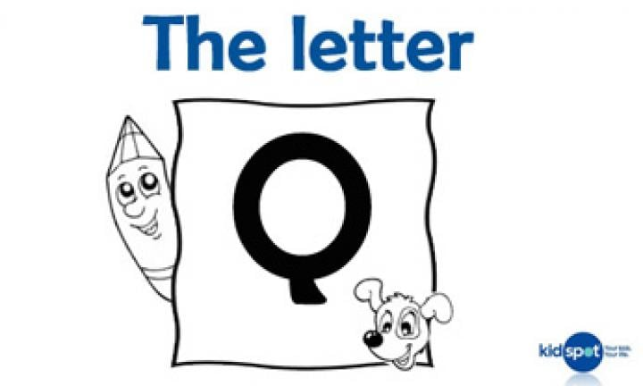 Learning the ABC: The letter Q