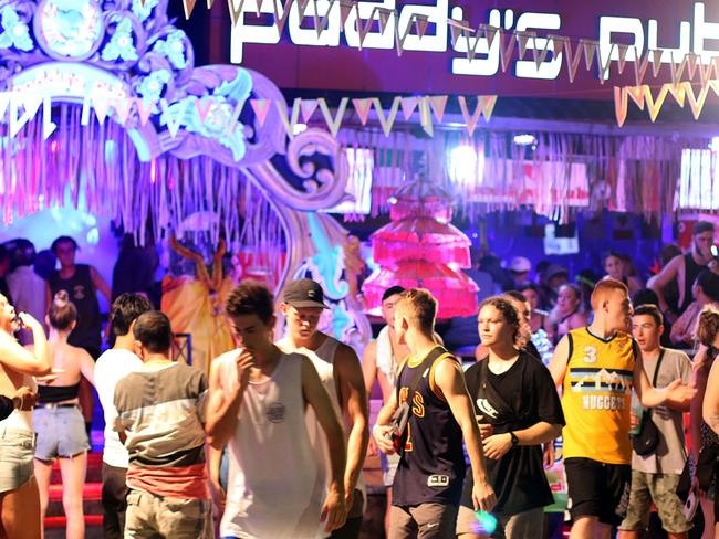 Paddy's Pub, on Legian St, was one of the nightclubs targeted in the Bali bombings. It reopened a year later and now attracts large numbers of young partygoers. Photo: Lukman S. Bintoro