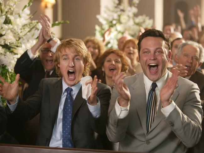 Wedding Crashers ... now that WAS a good movie.
