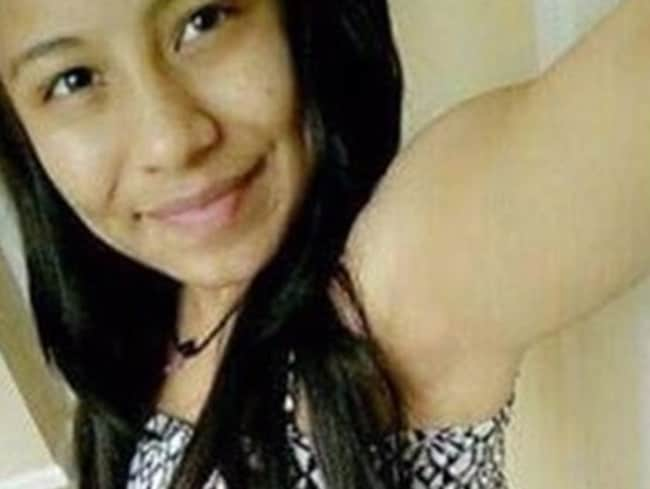 Murder victim Genesis Cornejo, 15, who was killed in an alleged satanic ritual by MS-13 members