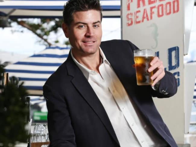 Stu Laundy will make his appearance on The Bachelorette this week. Photo: Richard Dobson via News Corp.