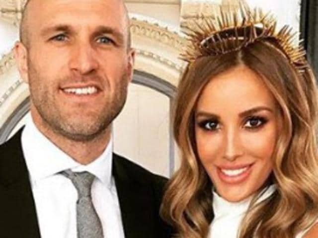 Rebecca and Chris Judd's auction fail