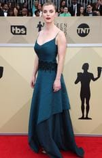 Actor Betty Gilpin attends the 24th Annual Screen Actors Guild Awards at The Shrine Auditorium on January 21, 2018 in Los Angeles, California. Picture: Frederick M. Brown/Getty Images/AFP