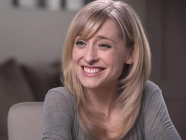 Allison Mack has recruited as many as 25 women into the NXIVM slave cult. Picture: