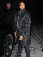 PARIS FASHION WEEK 2014: Rapper Kanye West attends the Givenchy show. Picture: Getty