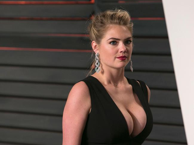 Model and actress Kate Upton was among those who had personal photos stolen. Picture: AFP