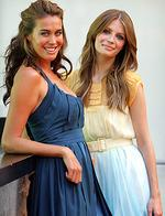 <p>Model Megan Gale (L) & actor Mischa Barton at press conference in Sydney, Barton is in Sydney as a guest of David Jones for the store's Tahitian Summer collection show in 2006.</p>