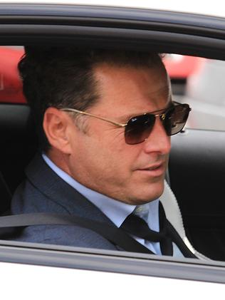 Karl Stefanovic at the Channel 9 offices.
