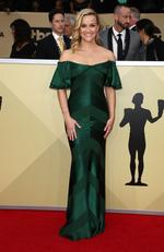 Actor Reese Witherspoon attends the 24th Annual Screen Actors Guild Awards at The Shrine Auditorium on January 21, 2018 in Los Angeles, California. Picture: Frederick M. Brown/Getty Images