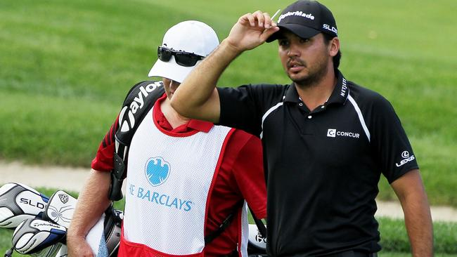Jason Day walks to the 10th green during the final round at The Ridgewood Country Club.