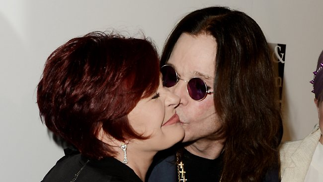 Sharon Osbourne and husband Ozzy Osbourne have been seen looking very friendly for a couple who are reportedly separated. Here they are at a benefit for the L.A. Gay and Lesbian Centre at the Beverly Hilton Hotel on May 18, 2013.