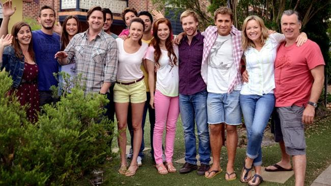 The Rafters cast would have been pleased with the finale's ratings. Picture: Supplied