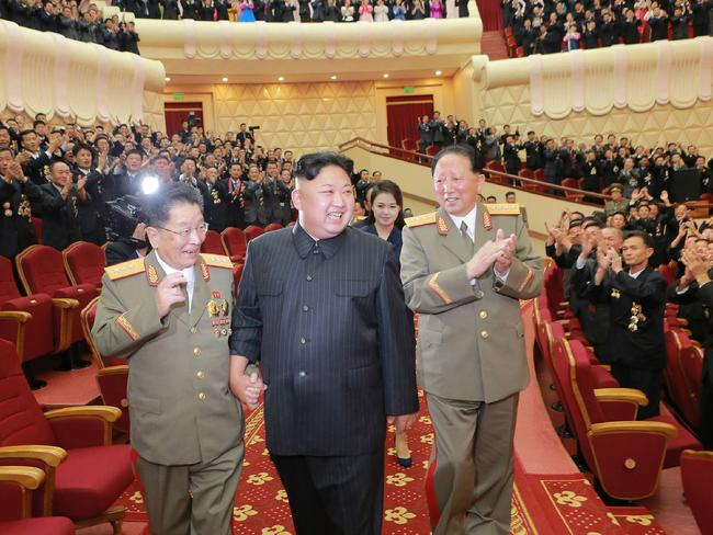 A global network of North Korean businesses are bringing in billions of dollars to sustain the hermit kingdom, and its leader's lavish lifestyle, despite international sanctions. Picture: AFP/ KCNA via KNS