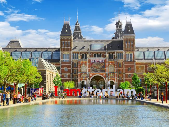The Rijksmuseum museum in Amsterdam is a popular tourist destination Picture: Istock