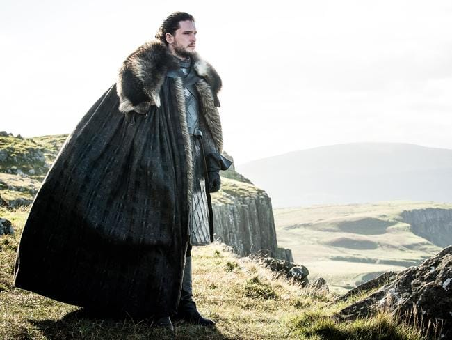 Kit Harrington reprises his role as Jon Snow in the seventh season of the HBO hit series Game of Thrones. Picture: HBO
