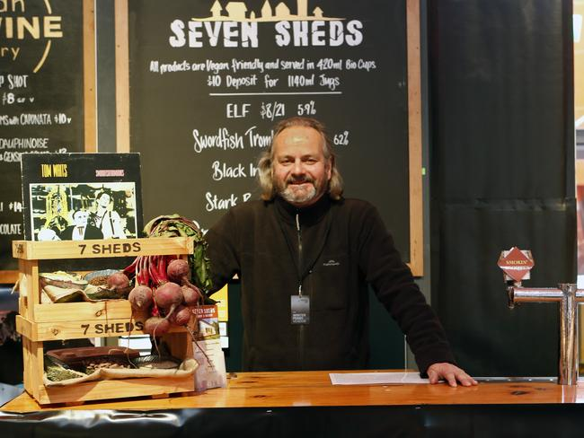 Seven Sheds Brewery owner Willie Simpson. Picture: Kim Eiszele