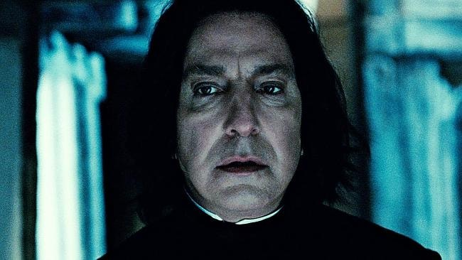 Snape's older than you think.