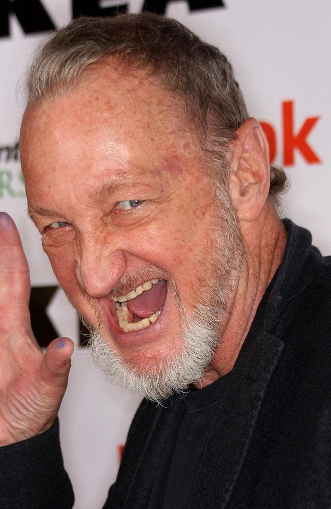 Actor Robert Englund: Out of the Freddy Krueger garb, he's just a big ol' teddy bear. Picture: Getty Images/AFP