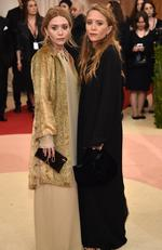 "Ashley Olsen (L) and Mary-Kate Olsen attend the ""Manus x Machina: Fashion In An Age Of Technology"" Costume Institute Gala at Metropolitan Museum of Art on May 2, 2016 in New York City. Picture: Dimitrios Kambouris/Getty Images"