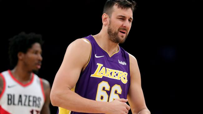 Bogut is looking for a new club. Sean M. Haffey/Getty Images/AFP