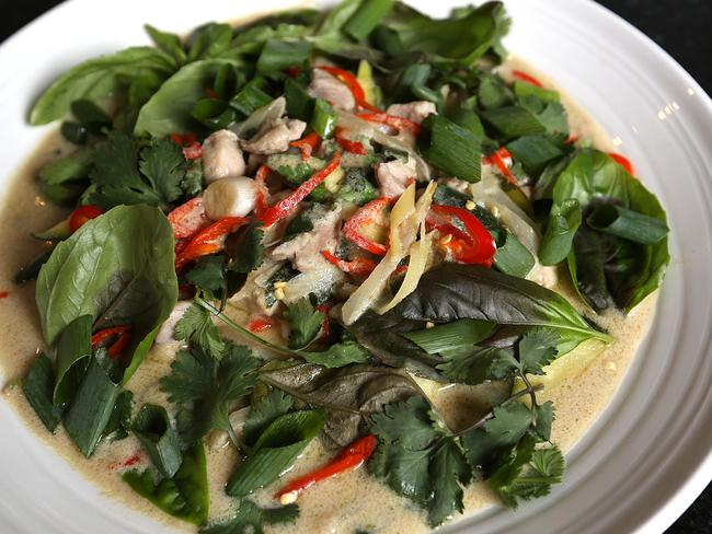 Chef Brent Farrell's Thai chicken curry.