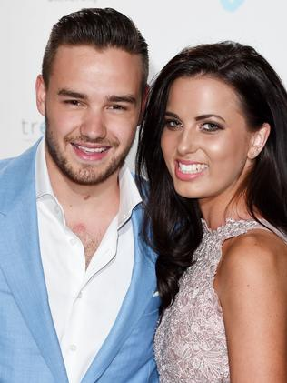 Over ... Liam Payne with ex-girlfriend Sophia Smith. Picture: Rex Features/Splash News