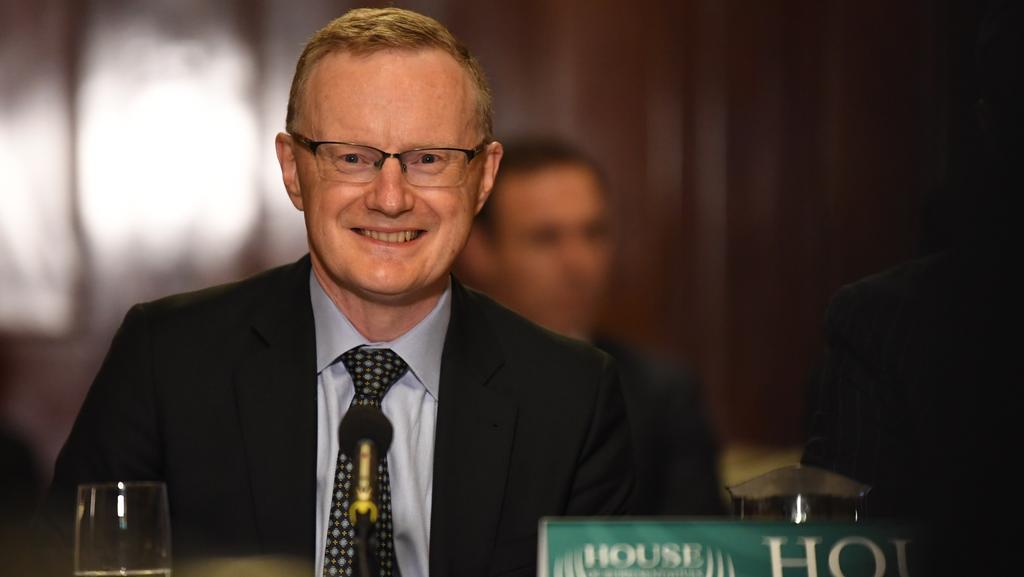 Reserve Bank of Australia governor Philip Lowe. (AAP Image/James Ross)
