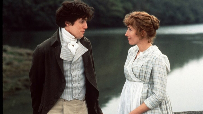 Emma Thompson and Hugh Grant in 'Sense and Sensibility'. Photo: Supplied