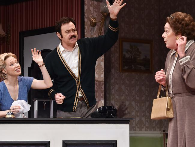 Fawlty Towers Live Brisbane Review Fun In Rebooting A