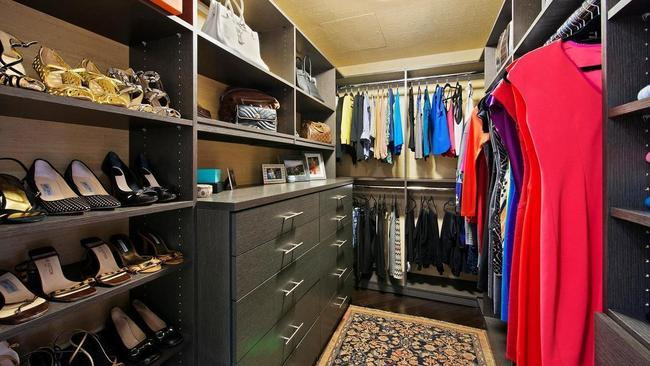 At least your clothes would get their own room in the $2.65 million apartment. Picture: STREETeasy.