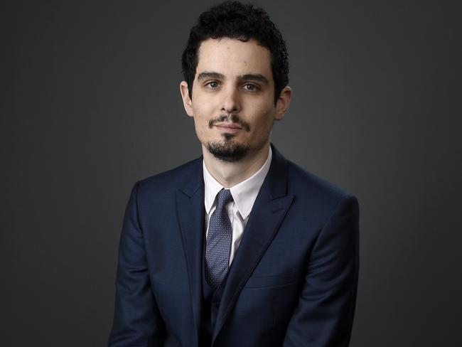 Damien Chazelle won the Oscar for Best Director. Picture: AP