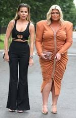 ONE TIME WEB USE ONLY - FEE APPLIES FOR REUSE - ITV Summer Reception at The Orangery at Kensington Palace - Arrivals Featuring: Gemma Collins, Georgia Kousoulou Where: London, United Kingdom When: 20 Jul 2017 Picture: David Sims/WENN.com