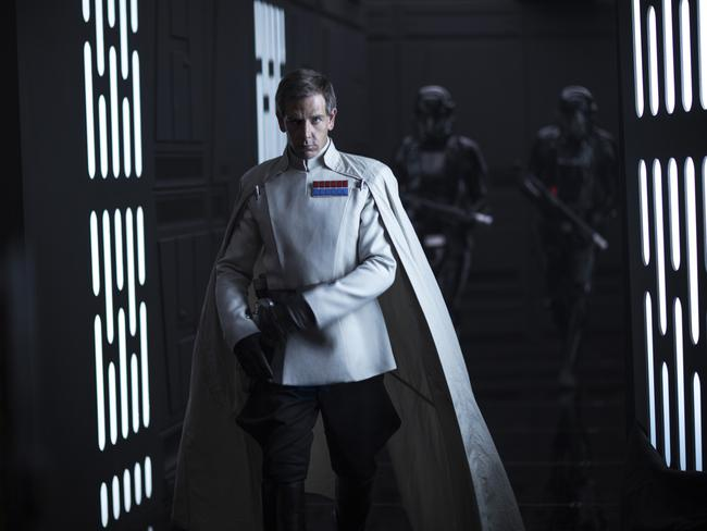 Director Krennic (played by Ben Mendelsohn) in Rogue One: A Star Wars Story. Picture: Lucasfilm Ltd.