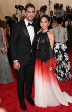 """Aaron Rogers and Oliva Munn attend the Met Gala 2015 """"China: Through The Looking Glass"""". Picture: Getty"""