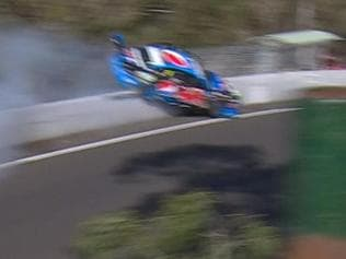 Video: Bathurst champ in horrifying crash