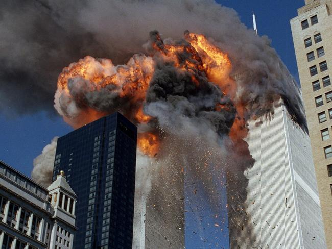The world was shocked by the attacks of September 11, but evidence suggests Saudi backed students were in the US preparing for the attack two years earlier. Picture: AP Photo/Chao Soi Cheong