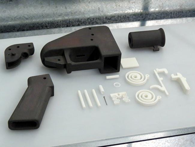 The Liberator is a common plastic 3D printed gun. NSW Police has even produced some of the weapons themselves.