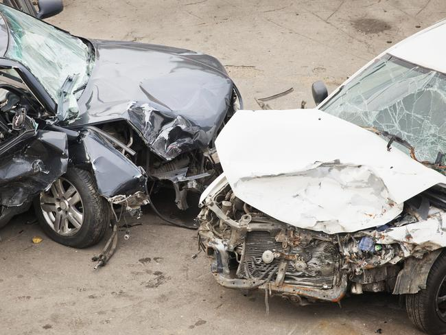 crashed cars from Thinkstock