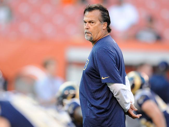 St Louis Rams head coach Jeff Fisher.