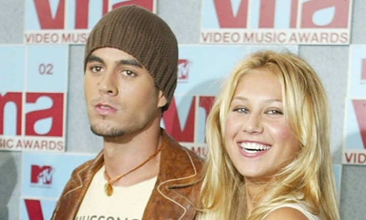 Enrique Iglesias and Anna Kournikova share first pics of their twins