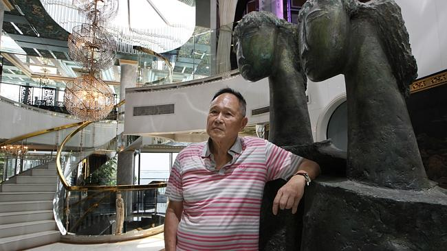 Cecil Chao offered a bounty to any man who can woo his daughter away from her lesbian partner. Picture: AP
