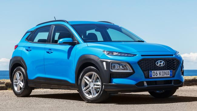 The Hyundai Kona Active, pictured, starts from $27,000 drive-away. Picture: Supplied.