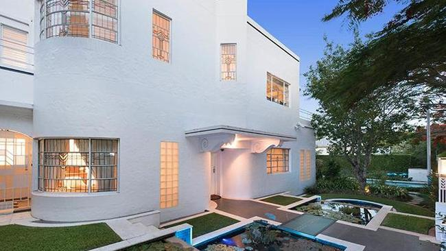 Heritage listed art deco villa in brisbane for sale complete with secret tunnel