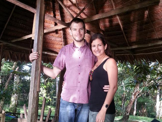 Perth couple Julian and Angela Moran have relocated to the Amazon jungle.