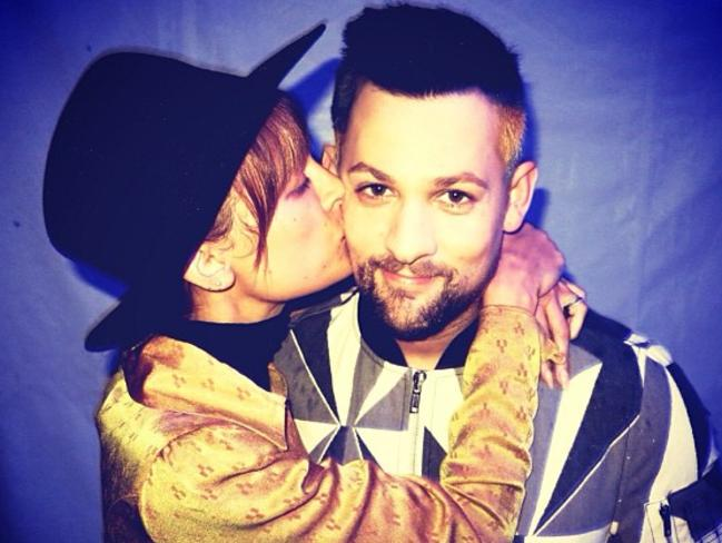 Nicole Richie and Joel Madden 'All you need is... ' Picture: Instagram