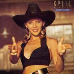 Undated photo. Kylie Minogue on the cover of her CD Never Too Late.