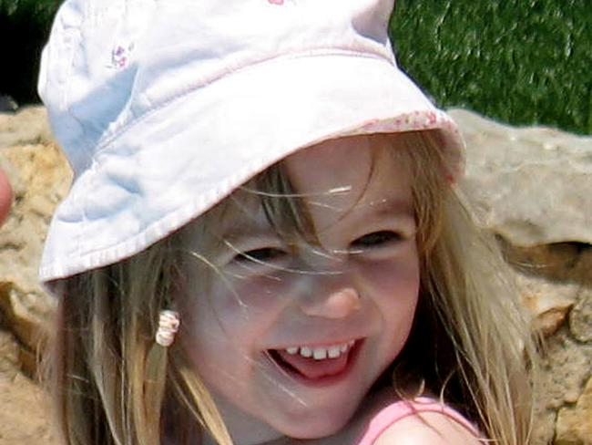 The last photo taken of Madeleine, then three, who was allegedly abducted from the family's holiday apartment in Praia da Luz, Portugal in May 2007. Picture: Supplied