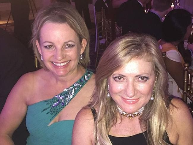 Health minister Sussan Ley billed taxpayers to attend a glamorous wedding of Queensland employment millionaire Sarina Russo.