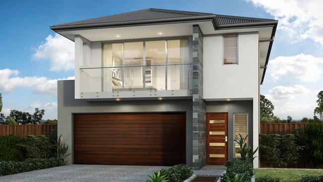 House design suits 10m frontage quest news for 10m wide home designs