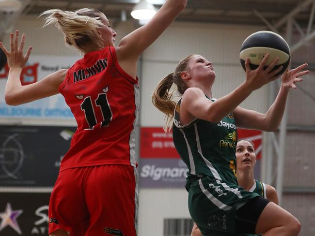 The WNBL semi-final between the Dandenong Rangers and Perth Lynx last year.